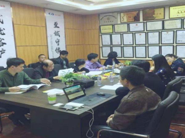 湖南省科学技术厅研究所谢静波所长一行莅临湘江智慧考察指导工作